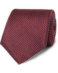 Canali Krawatte - Rot