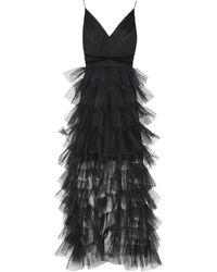True Decadence Vestido largo - Negro