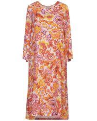 JEFF Midi Dress - Orange