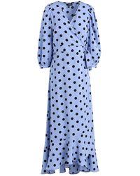 Vero Moda Midi Dress - Blue