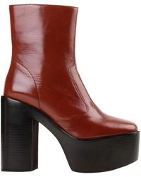 Jeffrey Campbell Ankle Boots - Brown