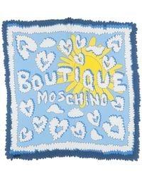 Boutique Moschino Foulard - Blau