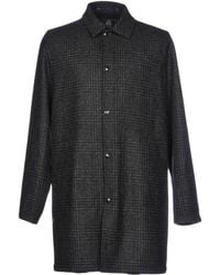 PS by Paul Smith - Overcoat - Lyst