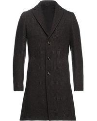 Exibit Overcoat - Brown