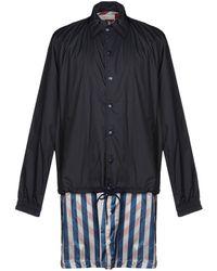 Facetasm Overcoat - Blue