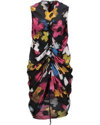 Colville Short Dress - Black