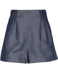 Giamba Denim Shorts - Blue