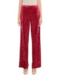 Annarita N. Casual Trouser - Red