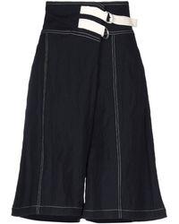 Jil Sander Bermuda Shorts - Blue