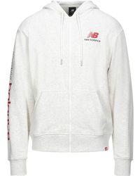 New Balance Sweat-shirt - Blanc
