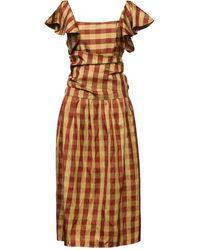 BATSHEVA 3/4 Length Dress - Multicolour