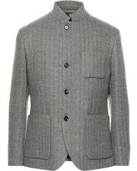 Eleventy Coat - Grey
