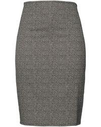 La Fee Maraboutee Midi Skirt - Black