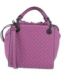 Bottega Veneta Handbag - Purple