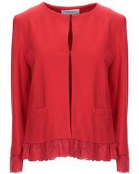Anna Rachele Suit Jacket - Red
