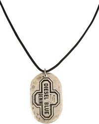 DIESEL - Necklaces - Lyst