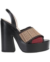 Lella Baldi Sandals - Black