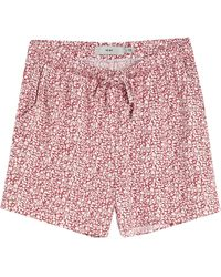 Ichi Shorts & Bermuda Shorts - Red