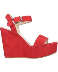 Ovye' By Cristina Lucchi Sandals - Red