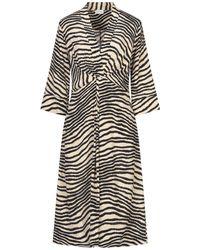 By Malene Birger 3/4 Length Dress - Natural