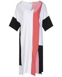 Crea Concept Knee-length Dress - White