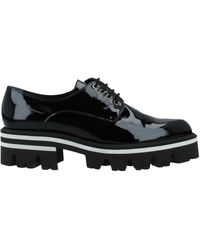 Luciano Padovan Lace-up Shoe - Black
