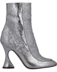 Sies Marjan Ankle Boots - Metallic