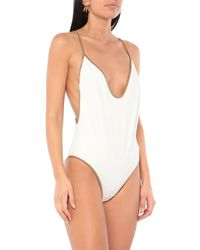 Tooshie One-piece Swimsuit - White