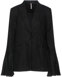 Free People Suit Jacket - Black