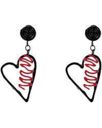 Moschino Earrings - Black