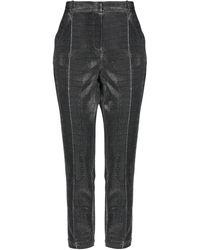 MY TWIN Twinset Trousers - Metallic