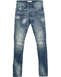 Balmain Pantalones vaqueros - Azul