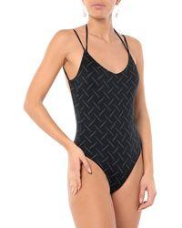 Marcelo Burlon One-piece Swimsuit - Black