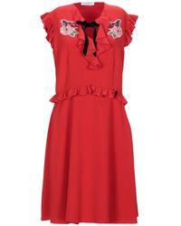 Vivetta Short Dress - Red