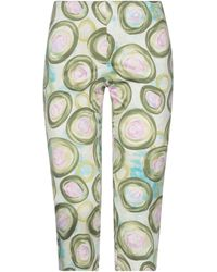 RED Valentino Cropped Trousers - Green