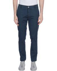 Dimattia Casual Trousers - Blue