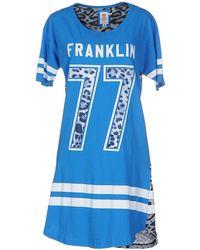 Franklin & Marshall - Short Dress - Lyst