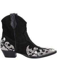 Lemarè Ankle Boots - Black