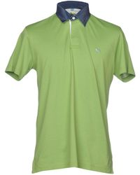 362ab3633774 Gucci Olive Green Shortsleeve Polo Shirt in Green for Men - Lyst
