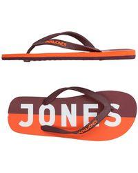 Jack & Jones - Toe Post Sandal - Lyst