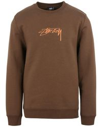Stussy Sweat-shirt - Marron