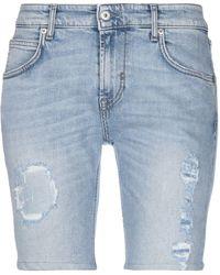 P.A.R.O.S.H. Denim Shorts - Blue