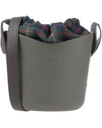 O bag Bolso con bandolera - Gris
