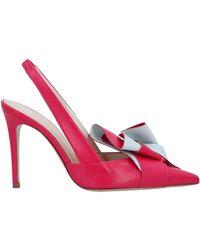 Delpozo Court Shoes - Pink