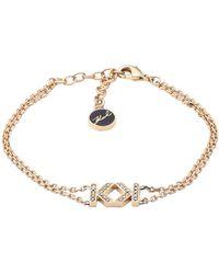 Karl Lagerfeld Bracelet - Metallic