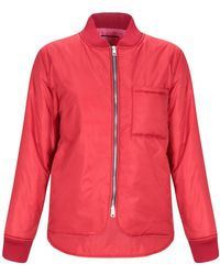 ..,merci Synthetic Down Jacket - Red