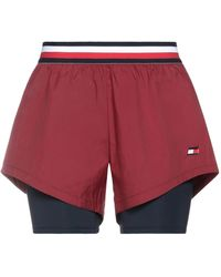 Tommy Sport Shorts - Rojo