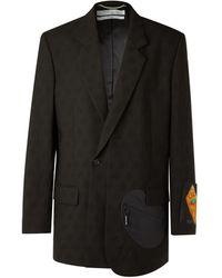 Off-White c/o Virgil Abloh Suit Jacket - Black