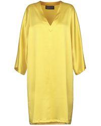 Gianluca Capannolo Knee-length Dress - Yellow