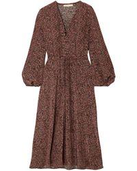 Vanessa Bruno 3/4 Length Dress - Brown